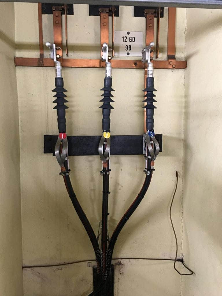 3m Cold Shrink Terminations Connecting Nexans 12kv Mv