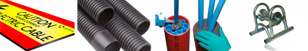 Cable Protection Duct Seals Rollers