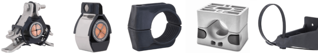 Cable Cleats - Single Cable Cleats