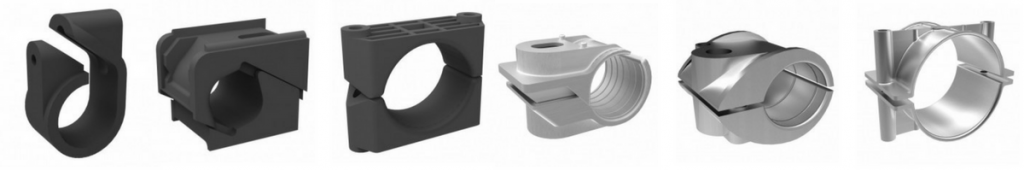 Cable Cleats - Single Way Cleats