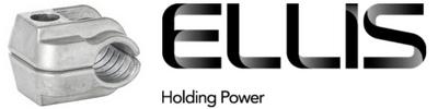 Ellis Patents 1 Hole Single Cable Clamps 10-57mm – Aluminium