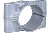 Ellis Patents 2 Hole Single Cable Clamps 38-168mm – Aluminium