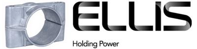 Ellis Patents 2 Hole Single Cable Clamps 38-168mm – Aluminium