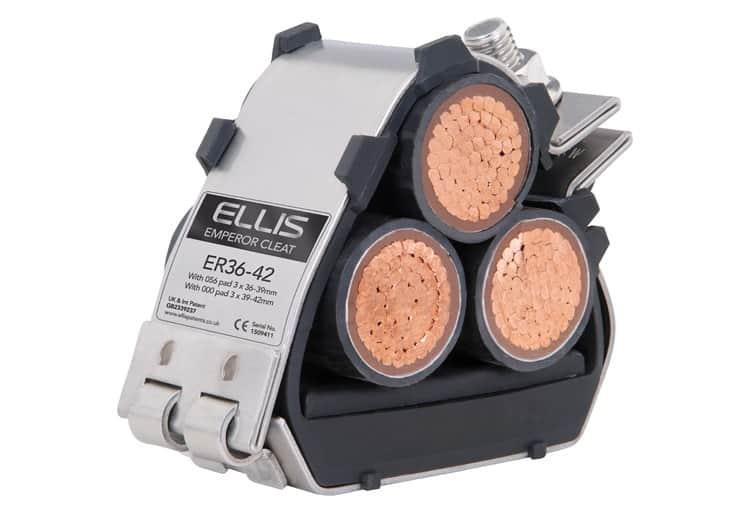 Ellis Patents Emperor Cable Cleats Trefoil