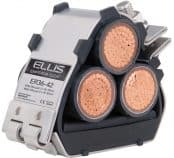 Ellis Patents Emperor Stainless Steel Trefoil Cable Cleats (19-128mm)