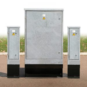 Feeder Pillars - Slimline Steel Feeder Pillars