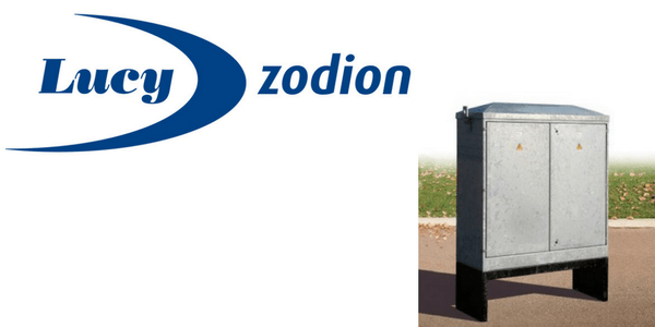 Lucy Zodion Double Door Feeder Pillars