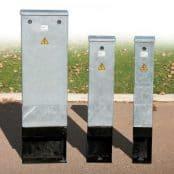 Lucy Zodion Mini Steel Feeder Pillars