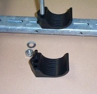 Position the cable clamp