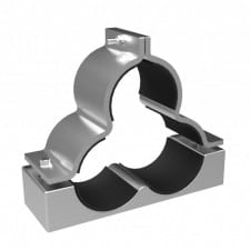 Prysmian Orion Shaped Trefoil Cable Cleats (Aluminium) LV MV HV