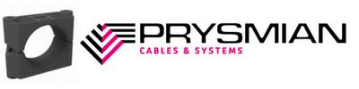Prysmian Plastic 2 Bolt Cable Cleat