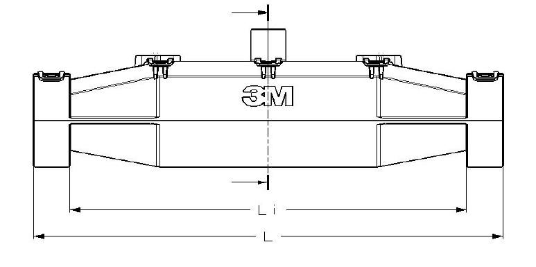 3M 91-NBA Dimensions