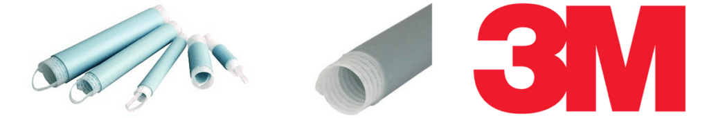 3M Cold Shrink Tubes - Silicone Rubber
