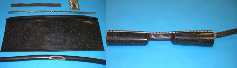 3M HDCW - Heat Shrink Wraparound Cable Sheath Repair & Jacketing Sleeves