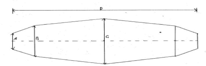 3M LVI-3/x Hazardous Area Cable Joints - Dimensions