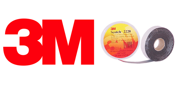 3M Scotch 2220 Stress Control Mastic Tape