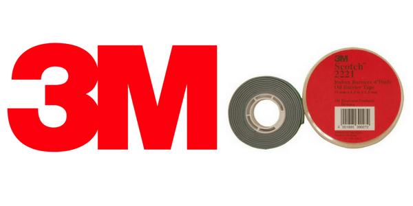 3M Scotch 2221 Oil Barrier Mastic Tape