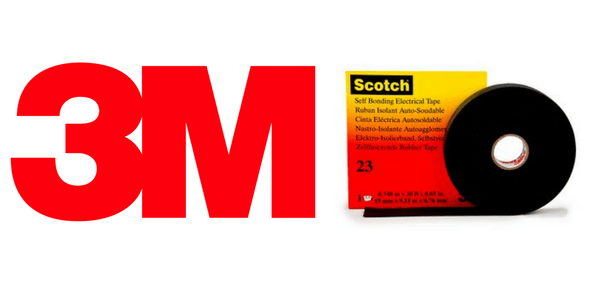 3M Scotch 23 Tape - Linered Rubber (EPR) Self Amalgamating Tapes