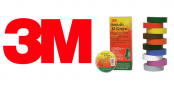 3M Scotch 35 Tape – Coloured PVC Insulation Tape (Premium)