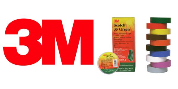 3M Scotch 35 Tape - Coloured PVC Insulation Tape (Premium)