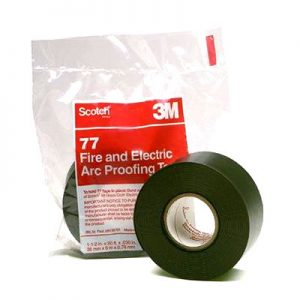 3M Scotch 77 Arc & Fire Proofing Tapes - ex stock