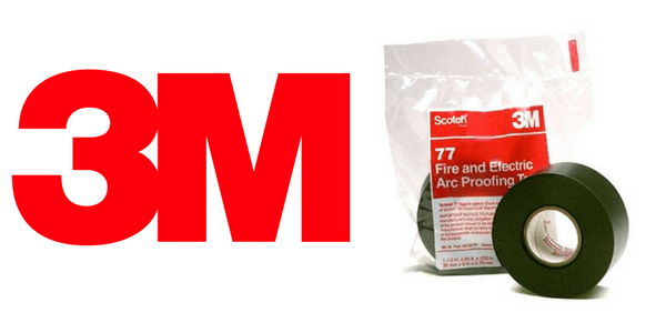 3M Scotch 77 Arc & Fire Proofing Tapes