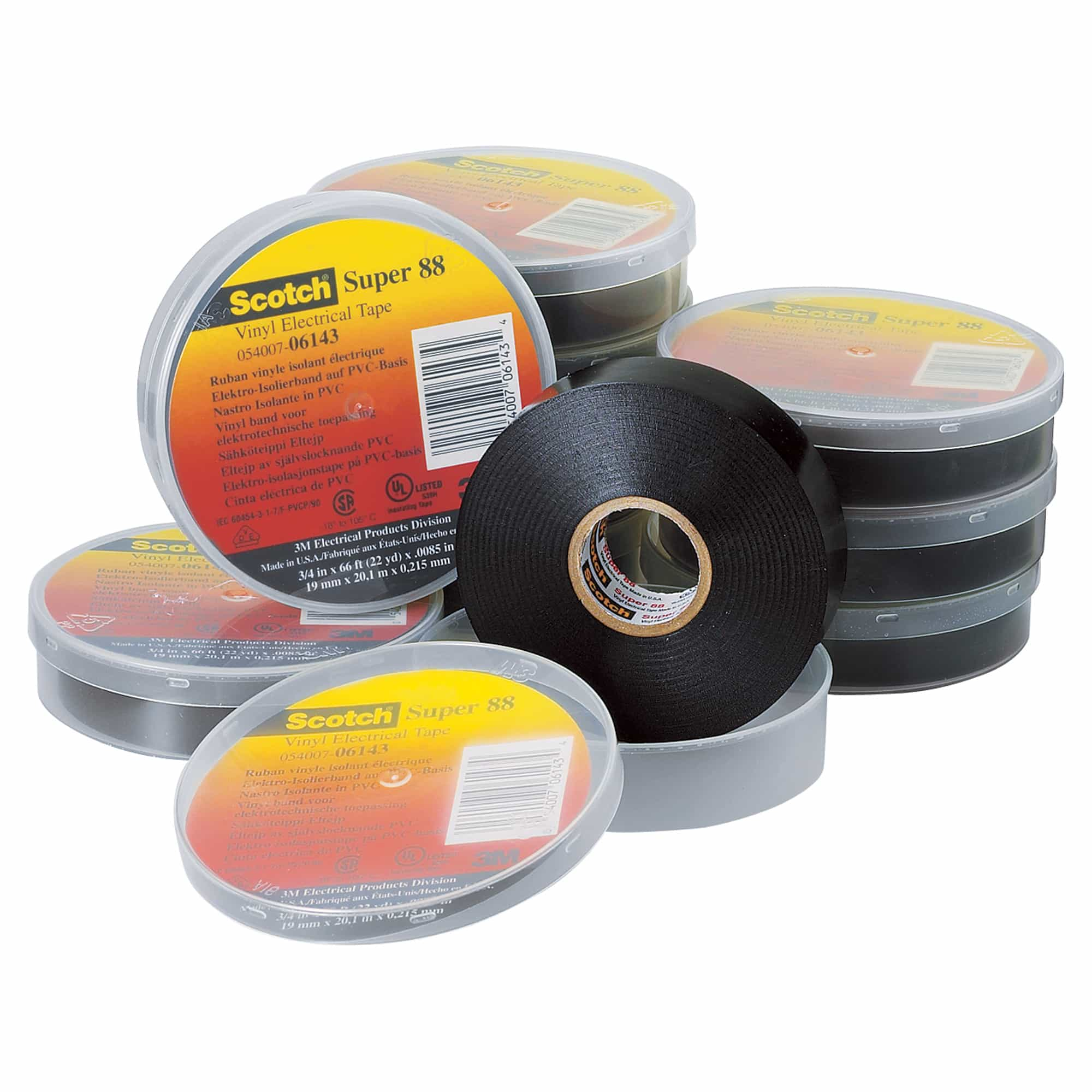 3M Scotch Electrical Tapes | PVC Vinyl Insulating Tapes