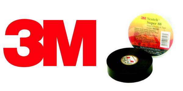 3M Scotch Super 88 Tape | Cold Weather PVC Insulation Tape