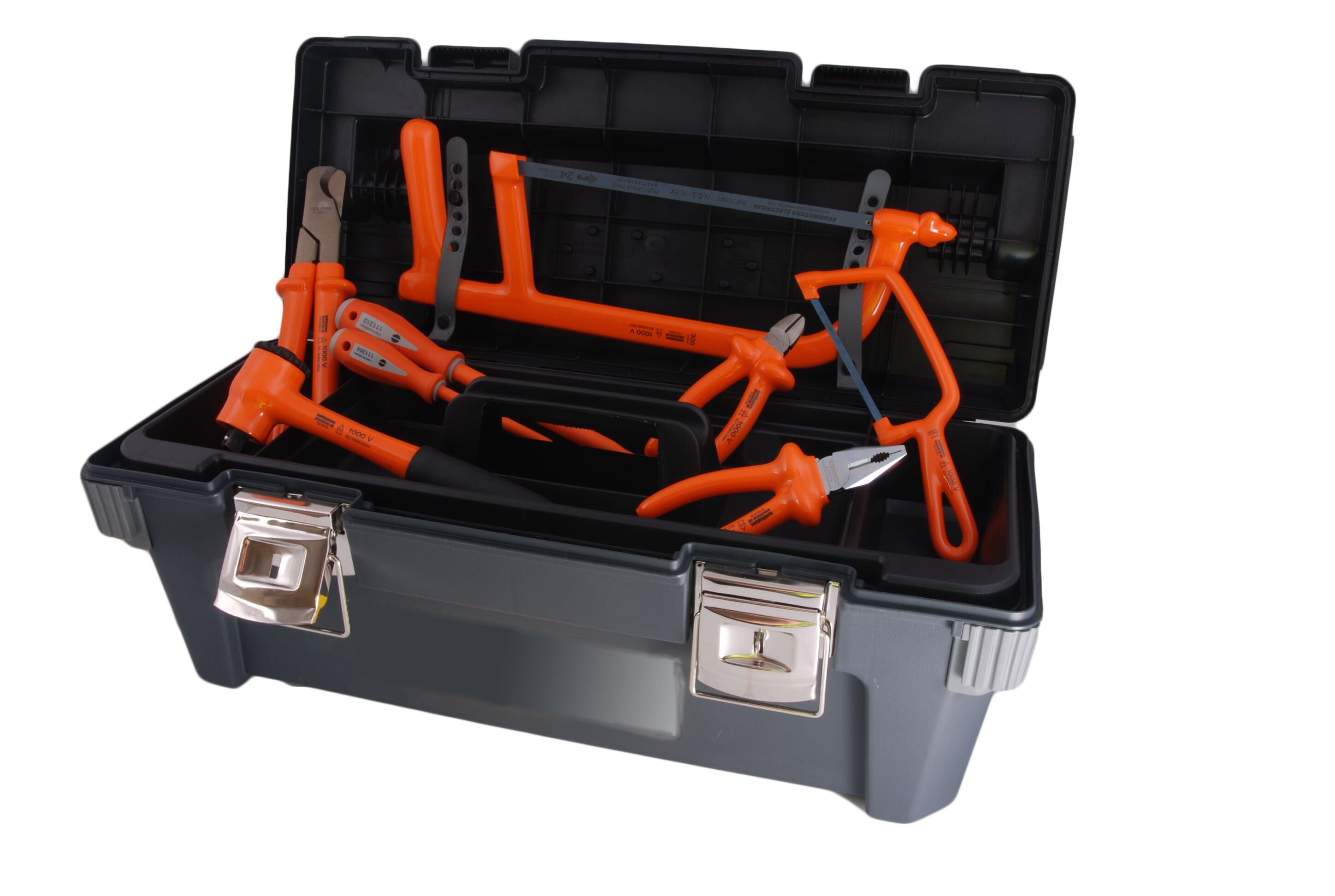 Boddingtons Electrical 240K01 35 Piece Jointer's Tool Kit 1 - Insulated Tools For Live Line Working & Electrical Safety