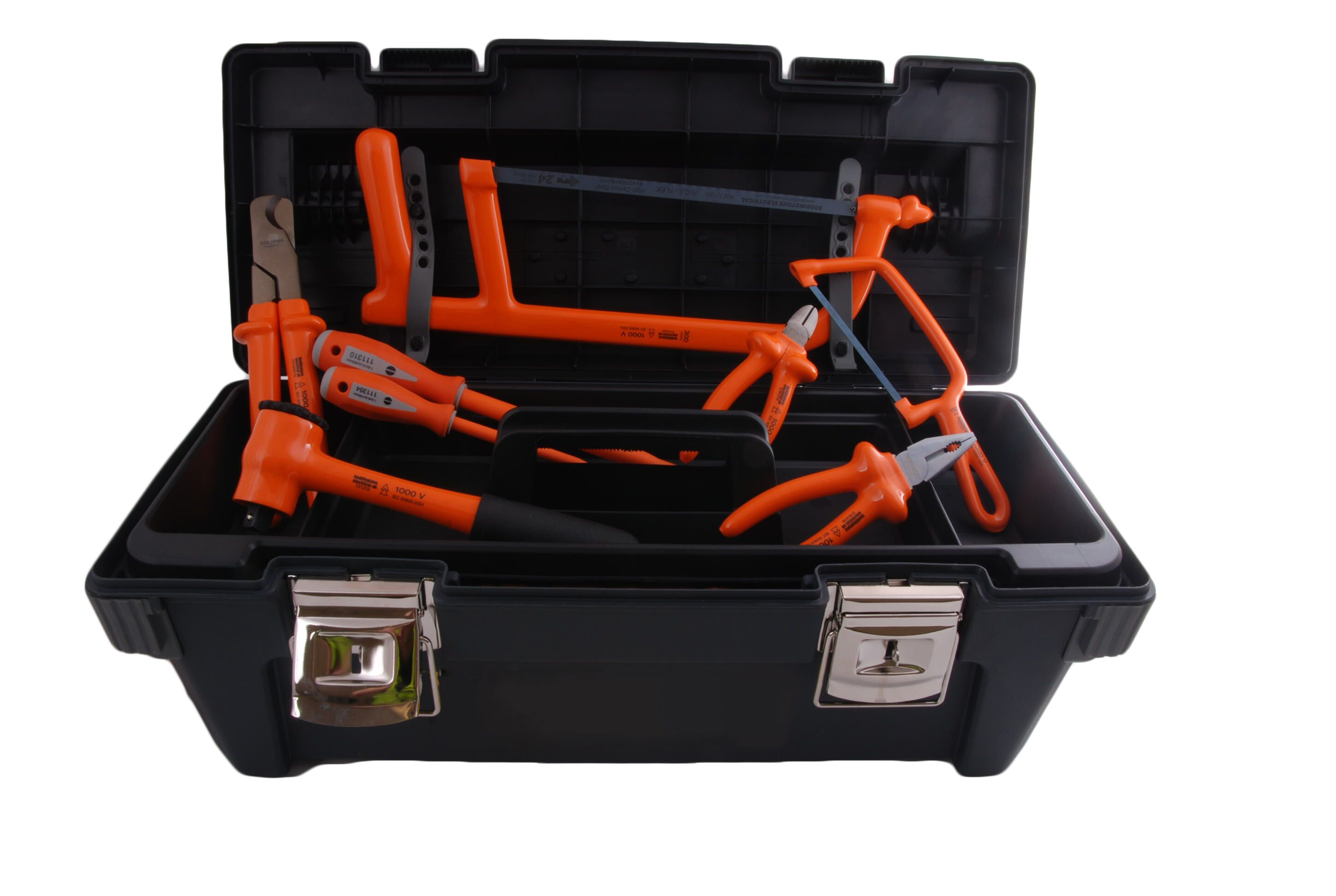 Boddingtons Electrical 240K04 36 Piece Jointer's Tool Kit 4 - Insulated Tools For Live Line Working & Electrical Safety