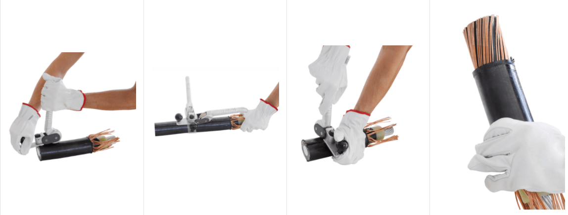 Boddingtons 244505 Tool - Cut, Strip & Remove Cable Sheath Jackets