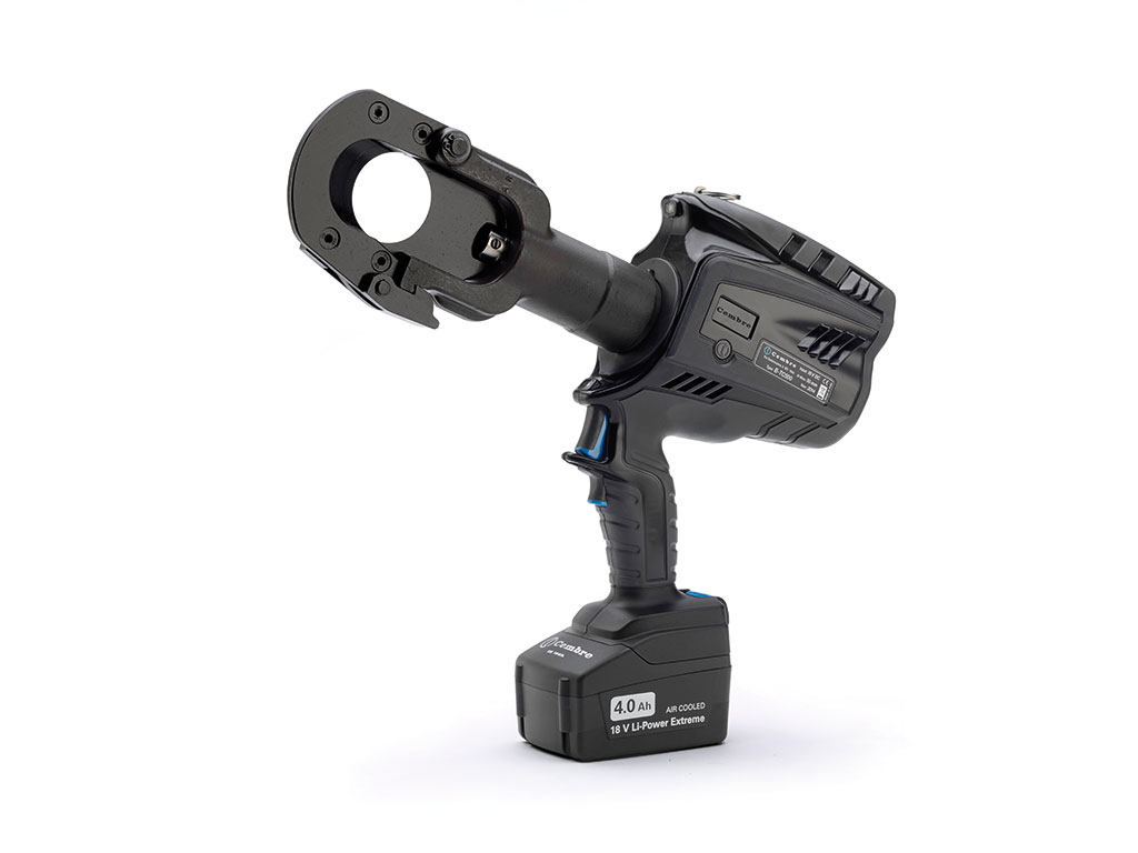 Cembre B-TC500E Tool | Cable Cutting Tool | Battery Operated Cable Cutter