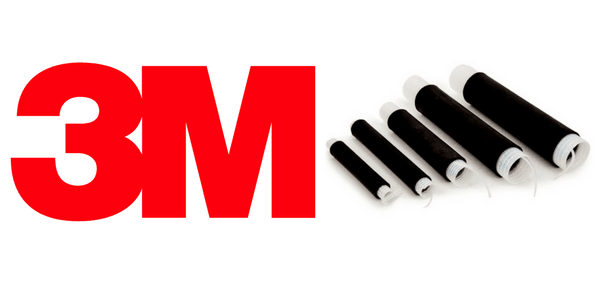3M 8445-7.5 Silicone Cold Shrink Tube 8.89 - 18.29mm