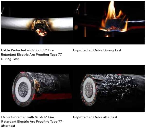 Fire Resistant & Arc Proofing Tapes