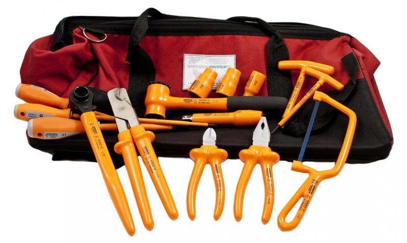 Insulated Tool Set Overhead Linesmans Tool Kit 2