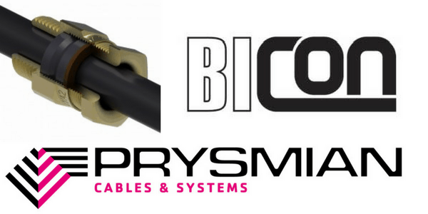A2 Brass Cable Gland Kits – Prysmian Bicon KM409 Glands (Unarmoured Cable Terminations)