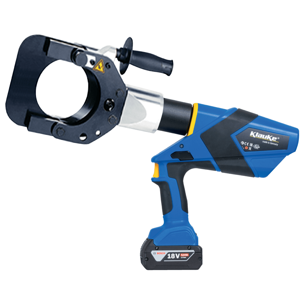 Battery Powered Cable Cutting Tool 105mm Dia – Klauke ESG105