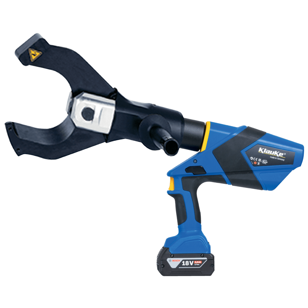 Battery Powered Cable Cutting Tool 105mm Dia - Klauke ES105