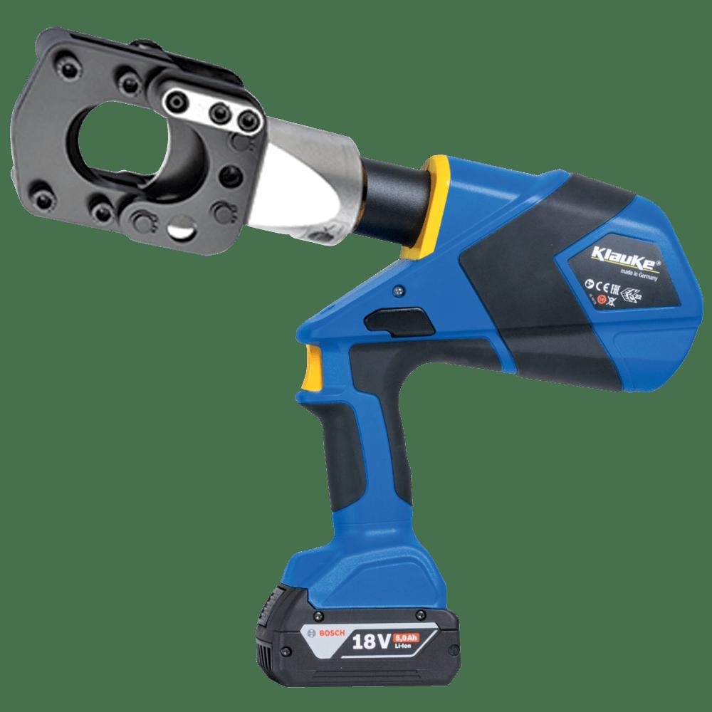Battery Powered Cable Cutting Tool 45mm Dia - Klauke ESG45