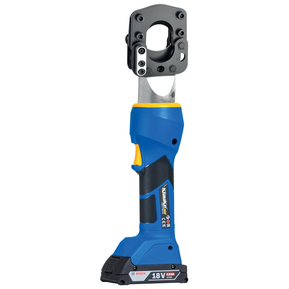 Battery Powered Cable Cutting Tool 45mm Dia - Klauke ESGM45