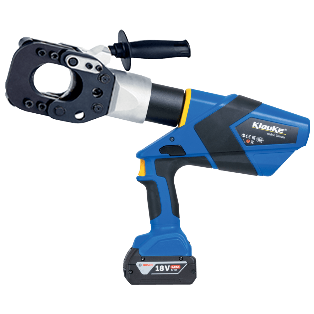 Battery Powered Cable Cutting Tool 55mm Dia - Klauke ESG55