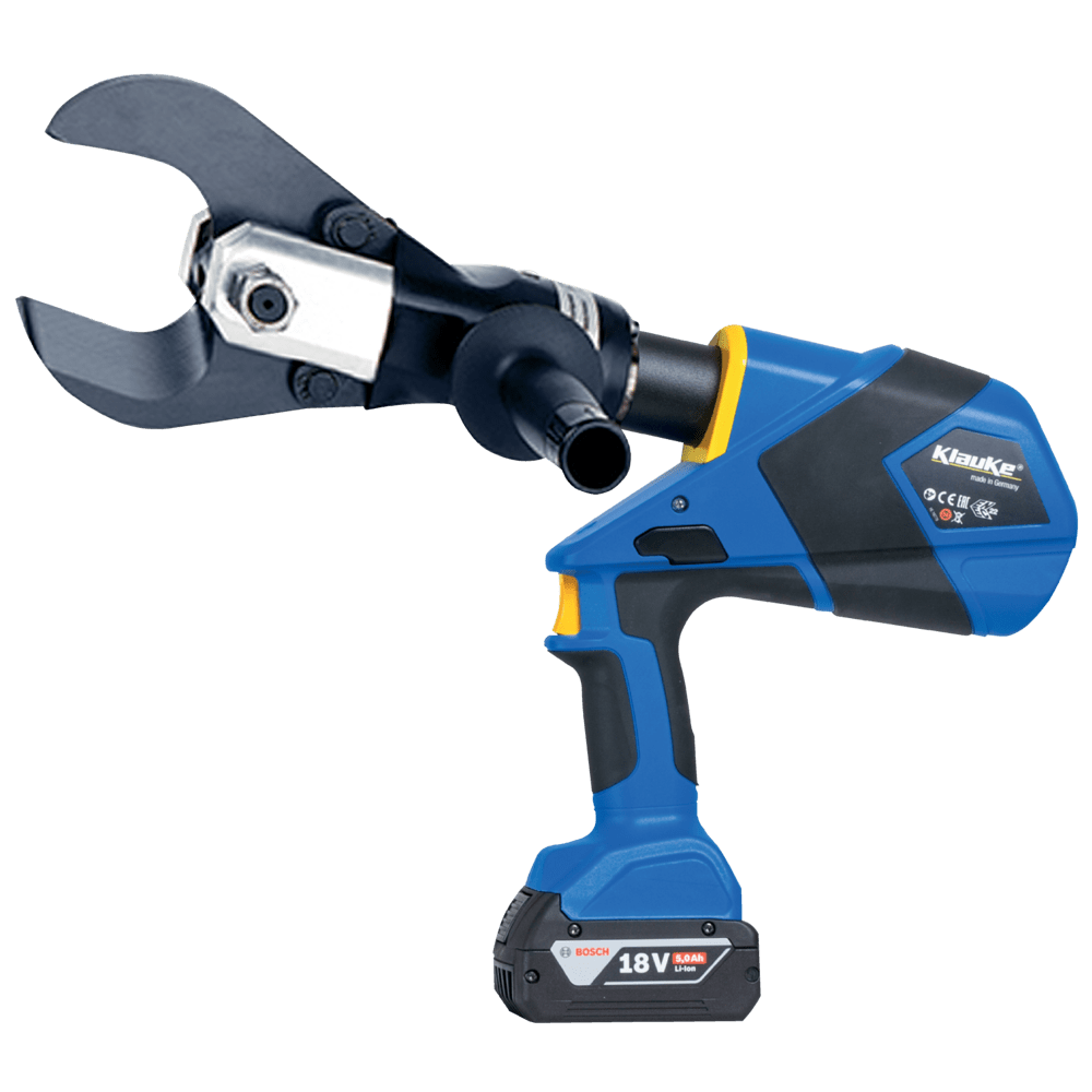 Battery Powered Cable Cutting Tool 65mm Dia - Klauke ES65