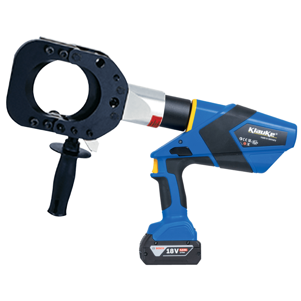 Battery Powered Cable Cutting Tool 85mm Dia - Klauke ESG85