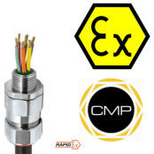 CMP PX2KXREX Barrier Glands – Hazardous Area Class I Zone 1, 21 and Zone 2, 22 Class I Division 1 & 2 ABCD