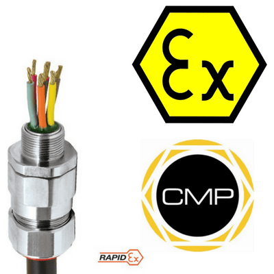 CMP PX2KXREX Barrier Glands - Hazardous Area Class I Zone 1, 21 and Zone 2, 22 Class I Division 1 & 2 ABCD