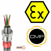 CMP PXRCREX Barrier Glands – Class I Zone 1, 21 and Zone 2, 22 (IECEx & ATEX)