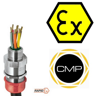 CMP PXSS2KREX Barrier Glands – IECEx & ATEX Hazardous Area Cable Gland Ex e, Ex d, Ex nR, Ex ta
