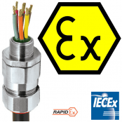 CMP RapidEx Barrier Cable Glands For Hazardous Areas & Explosive Atmospheres