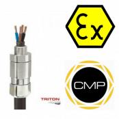 CMP Triton Cable Gland CDS (T3CDS) –  Ex e, Ex d, Ex nR & Ex ta Hazardous Area ATEX Zone 2