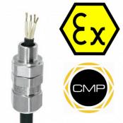 CMP Triton Cable Gland TE1FU – Ex e, Ex d, Ex nR, Ex ta Hazardous Area ATEX Zone 2